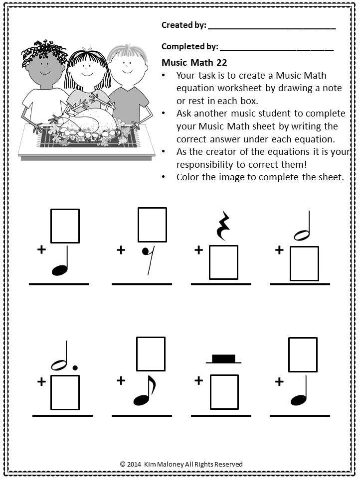 24 Thanksgiving Themed Musicmath Sheets For Your Music Class Musiceducation Musicteacherres Music Math Thanksgiving Music Thanksgiving Music Activities