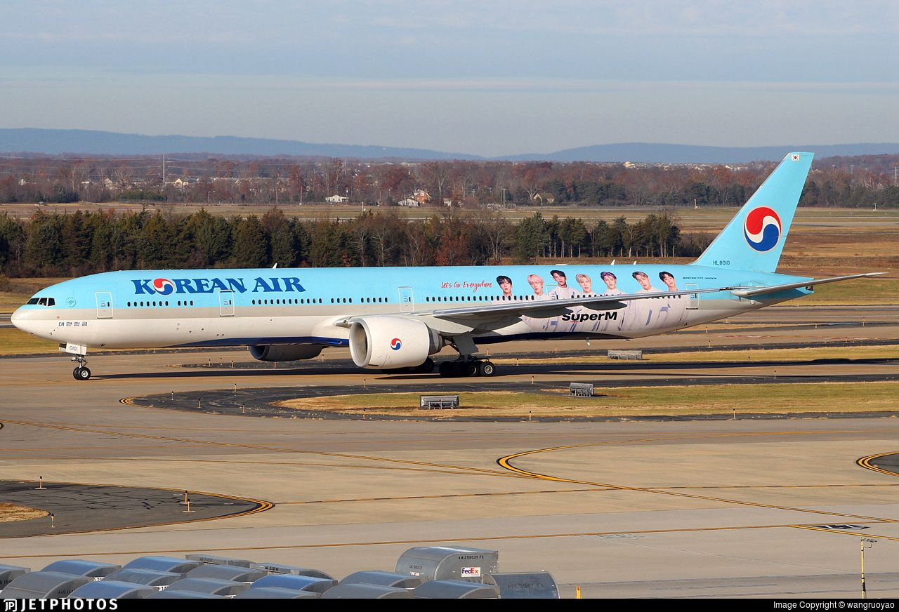Airline Korean Air Lines Registration HL8010 Aircraft