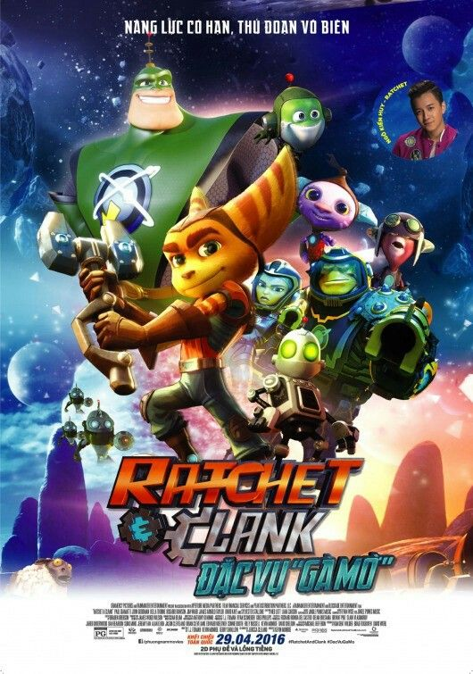 Ratchet And Clank Movie Poster Full Movies Free Movies Online Cloud Movies