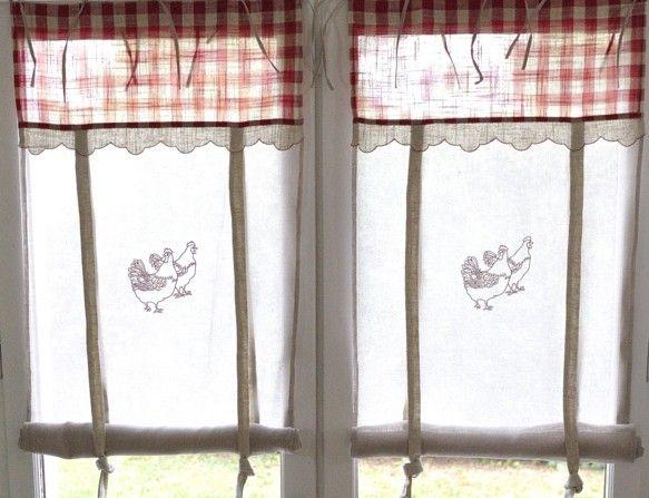 petit rideau cuisine largeur au choix