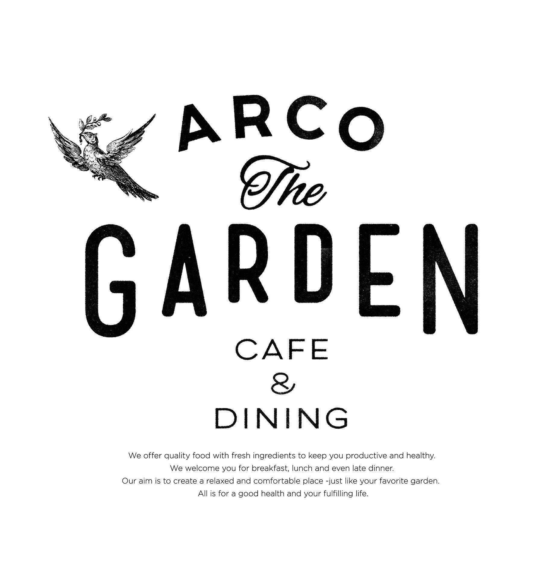 Arco The Garden 上田崇史 Typo Logo Lettering Logo Inspiration