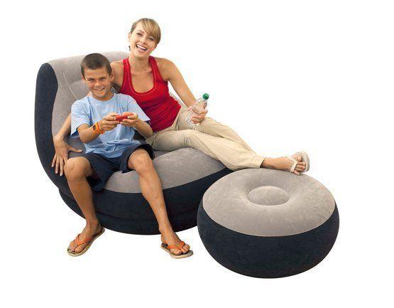 INTEX Ultra Lounge Aufblasbare Möbel Perfekte Loungen Für Garten Strand  Pool See