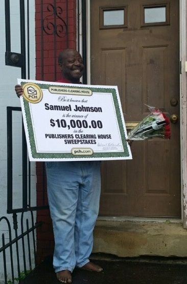 Publishers Clearing House Winners: Samuel Johnson From Washington