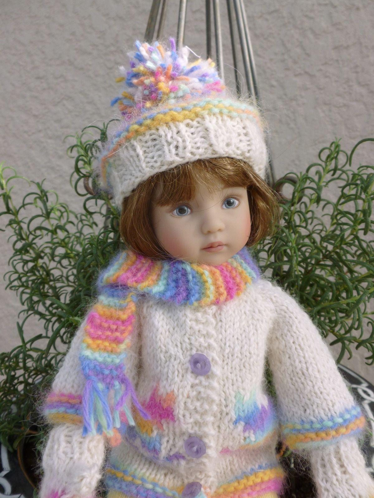 034 Calico Kittens 034 for Effner 039 s 034 Little Darling 034 Angora Kittens on Alpaca Outfit   eBay