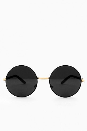 August Sunglasses in Black and Gold   Eye Spy   )   Pinterest ... 5933c48826