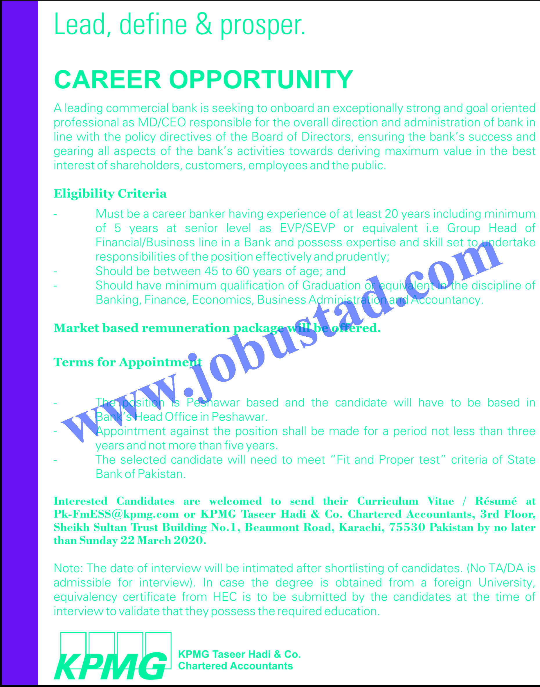 latest private sector bank jobs 2014