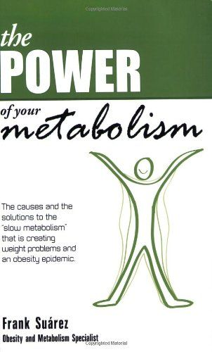 The Power of Your Metabolism- Over 500,000 Copies Sold- Proven Techniques to Lose Weight and Keep it Off- More than a Diet, a Lifestyle Change by Frank Suarez http://www.amazon.com/dp/0978843754/ref=cm_sw_r_pi_dp_5fhQwb0VQZQXJ