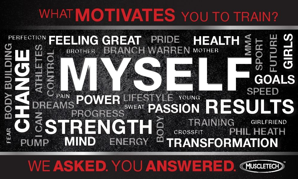 We Asked,  - what motivates you