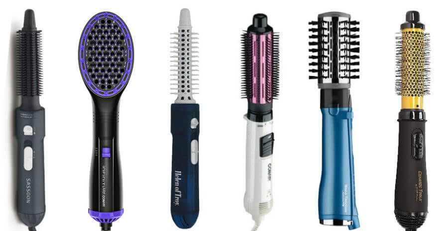 A Heated Hair Brush Will Help You Create A Gorgeous Hairstyle Fine Hair Short Hair Choosing The Best In 2020 Straightening Brush Rotating Hair Brush Best Hair Brush