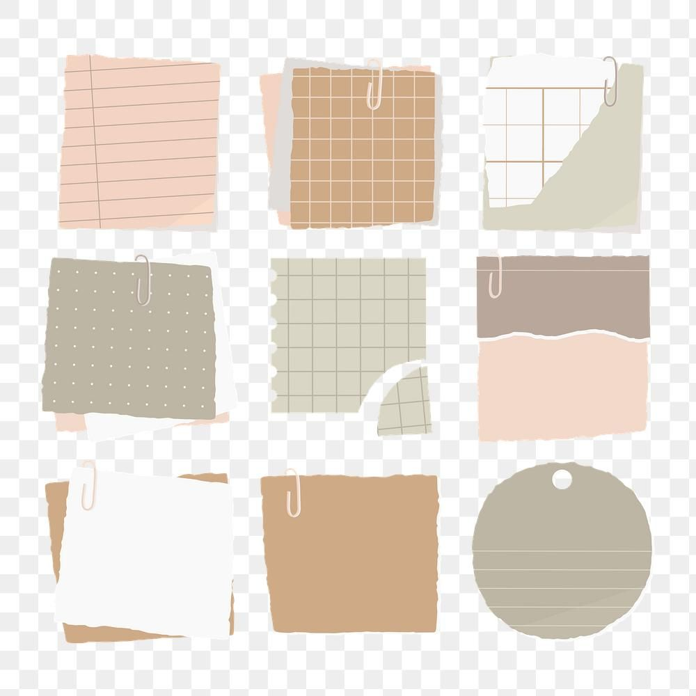 Torn Paper Note Collection Social Ads Template Transparent Png Premium Image By Rawpixel Com Man Vintage Scrapbook Paper Note Paper Bullet Journal Stickers