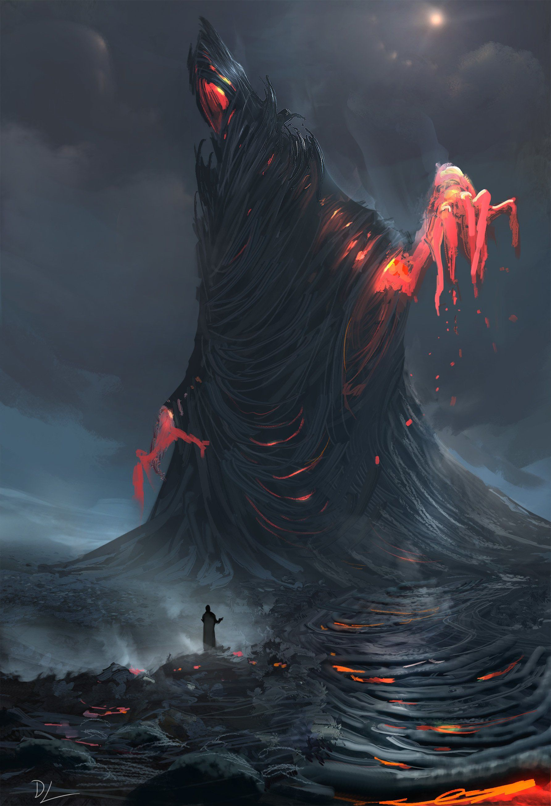 Fire Witch by Denis Loebner ImaginaryWitches Gothic