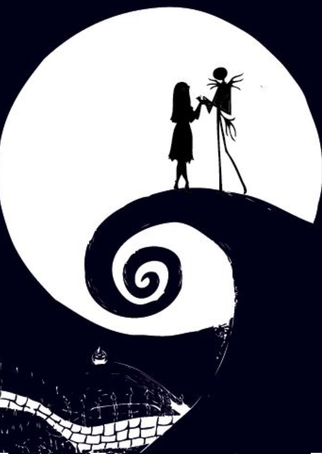 Pin By Patricia On Halloween Nightmare Before Christmas Wallpaper Nightmare Before Christmas Christmas Wallpaper