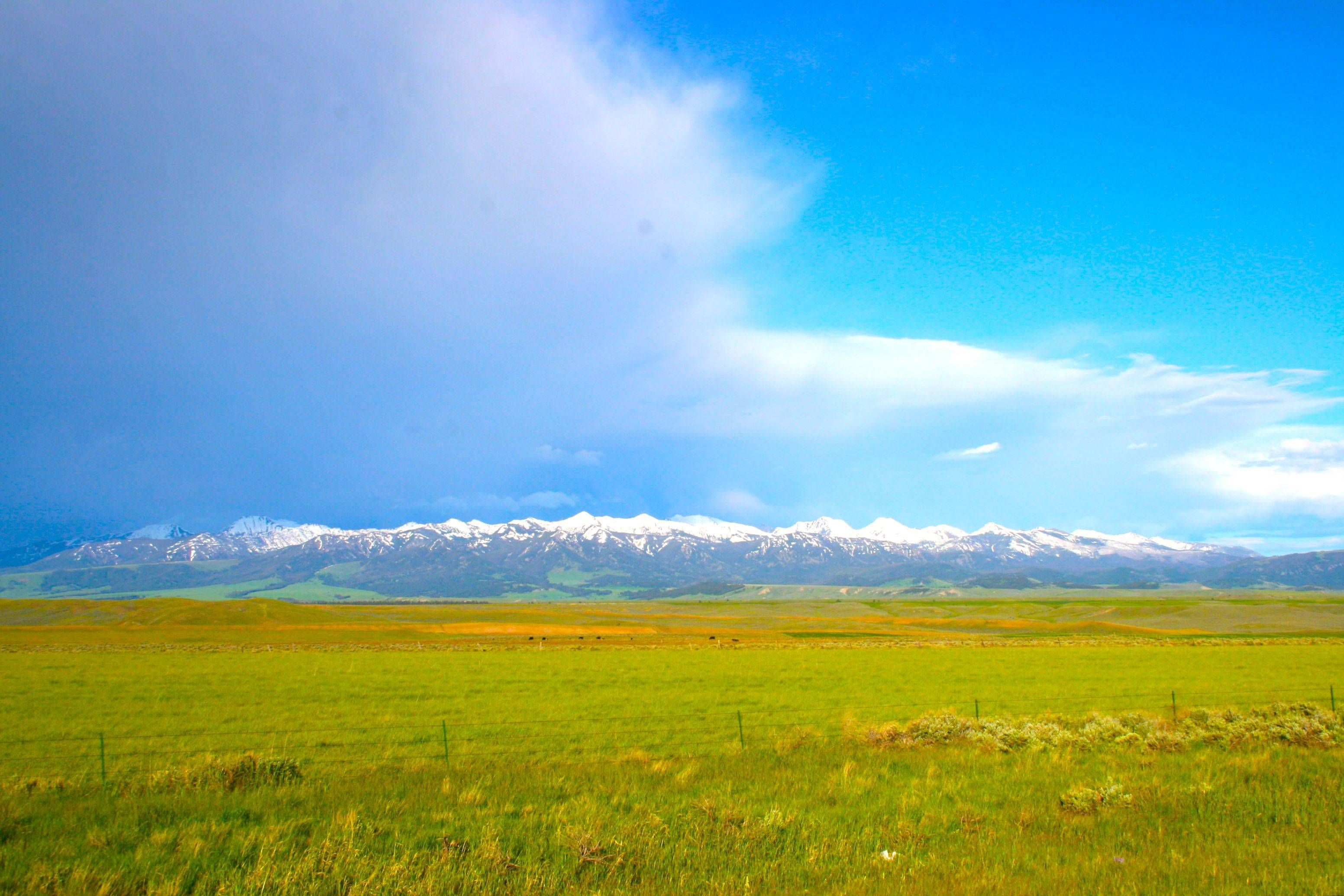 Landscapes and Space Big sky country, Scenery, Big sky