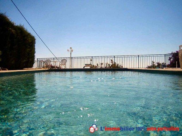 Piscine 14 x 5 et pool house, avec une exceptionnelle vue sur les - location maison cap d agde avec piscine