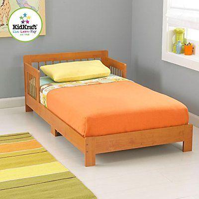 Bedroom Furniture 66742: Kidkraft Toddler Houston Bed, Honey New  U003e BUY IT  NOW