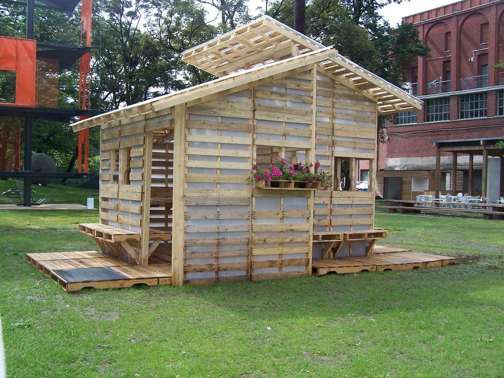 Dit Pallet Huis Kun Je Zelf In 233 233 N Dag Bouwen En Het Is