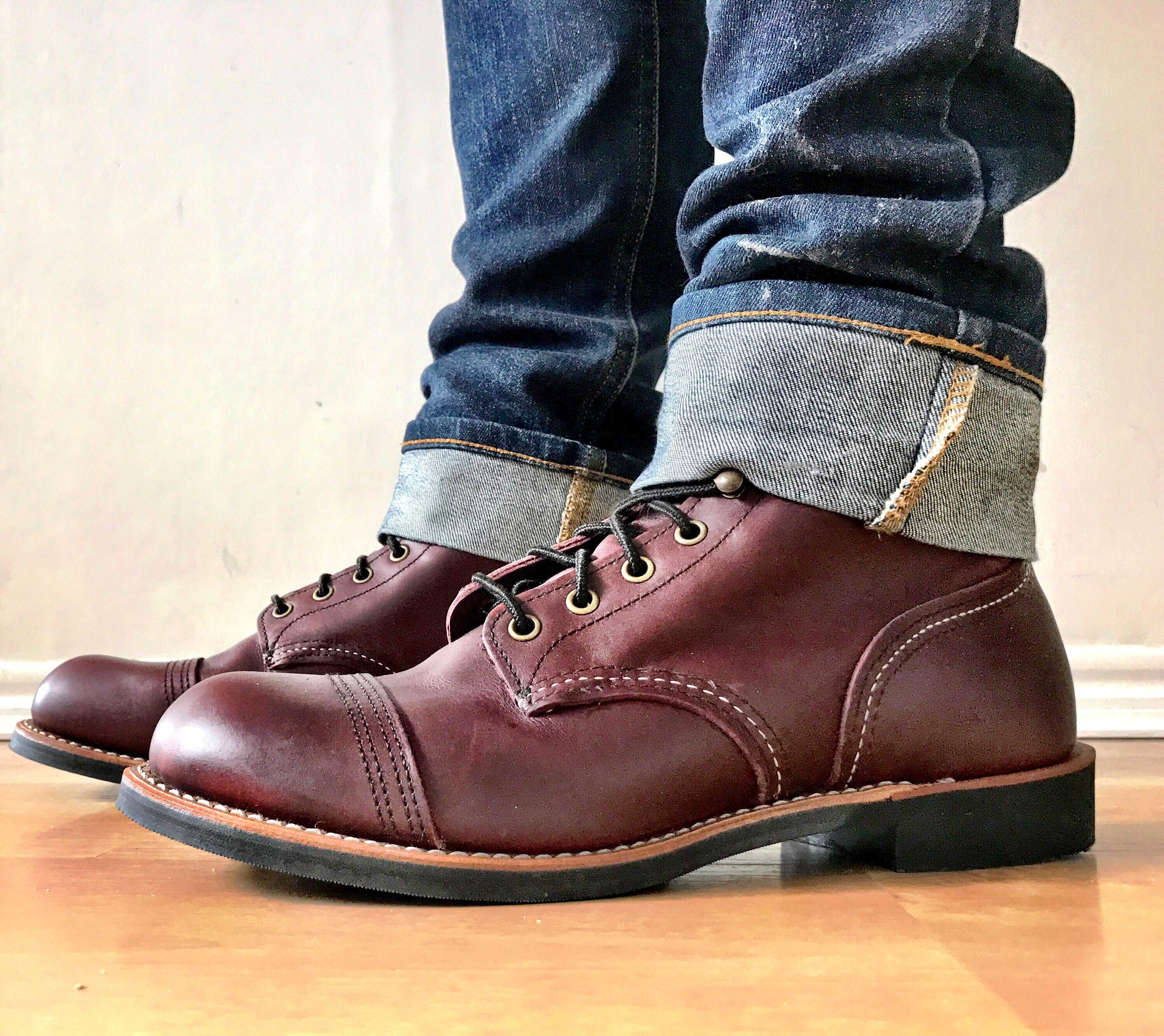 Red Wing Iron Rangers 8119 Oxblood Day 1 Attire Red