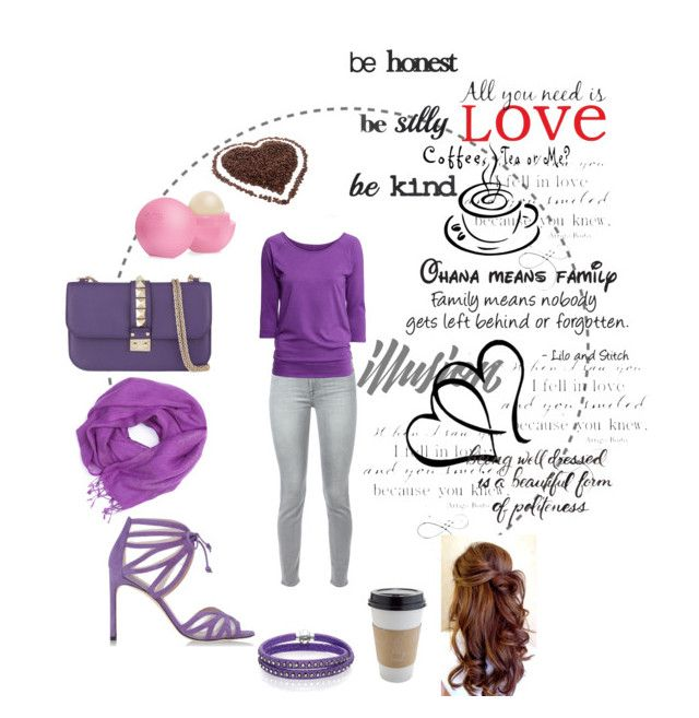 """Casual in purple"" by amel-birparic ❤ liked on Polyvore"