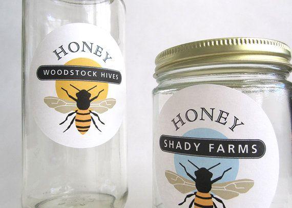 Honey Jar Labels, Bee Stickers, Gift for Beekeeper, Honey Sticker - fresh experience certificate format bee