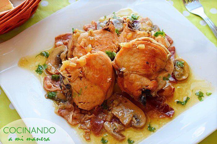 Pollo Guisado Al Vino Blanco Siempre Sale Bien Pollo Guisado Pollo Recetas Con Pollo