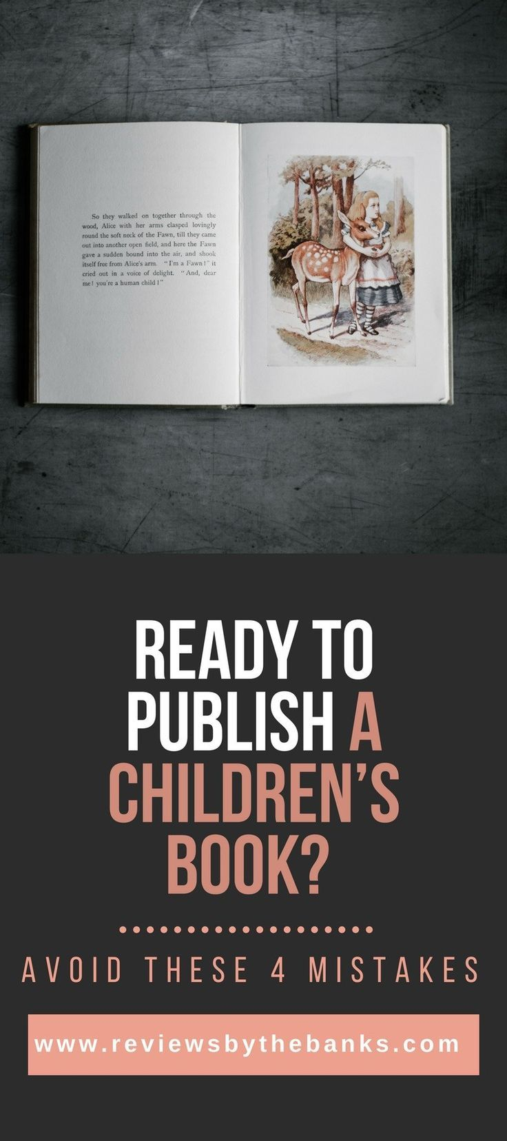Mistakes to Avoid when Publishing Children's Books