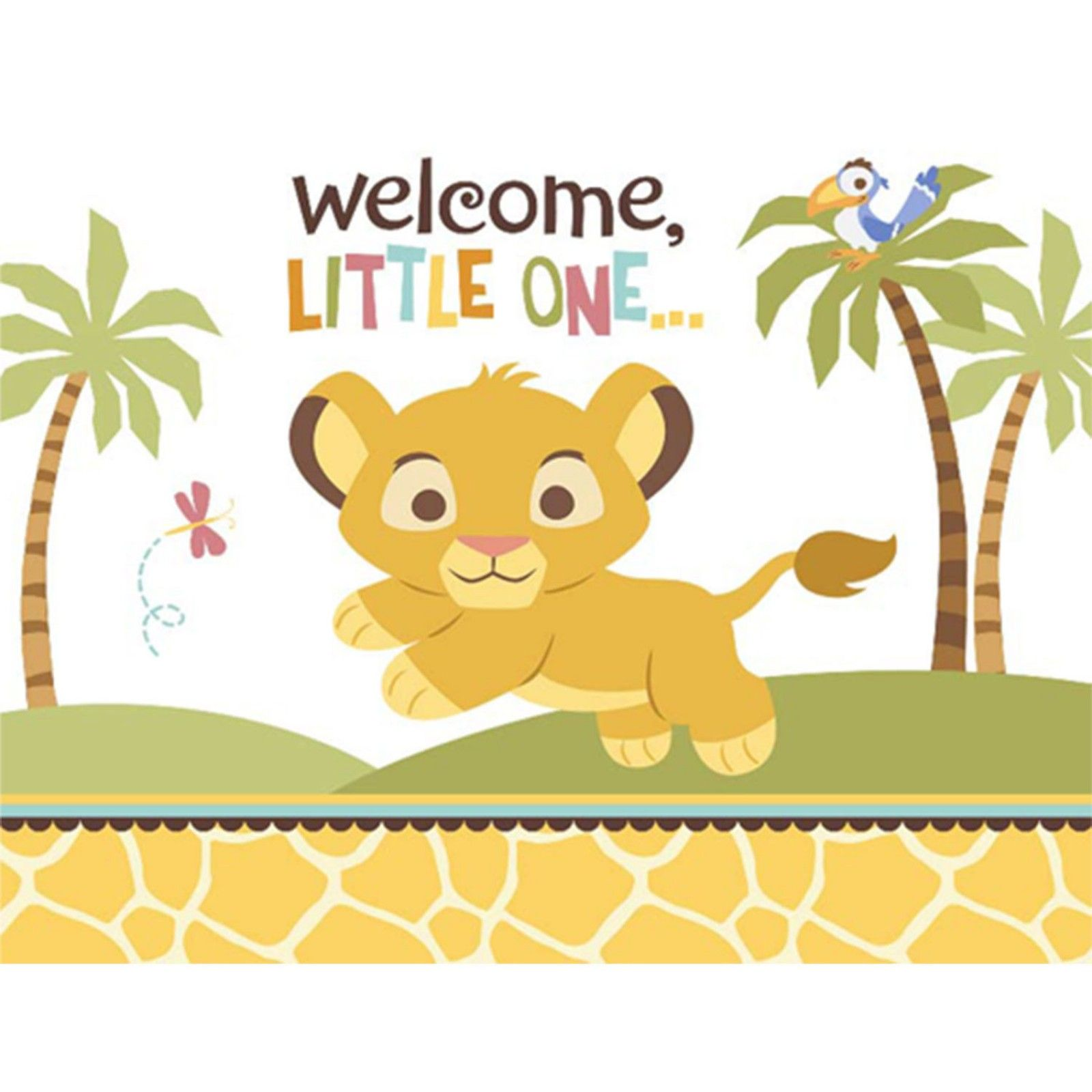 Image result for free printable lion king baby shower invitations ...