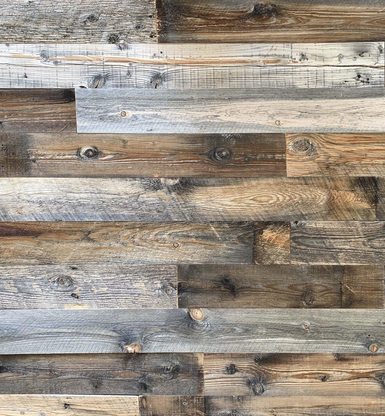 Real Reclaimed Wood Boards Decor Wood Panel Walls Wood Wall