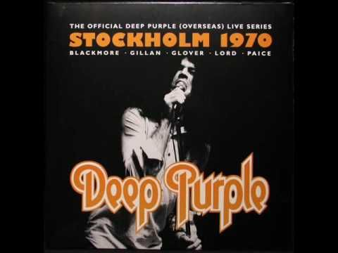 Deep Purple Live In Stockholm 1970 Full Album Deep Purple Album Purple