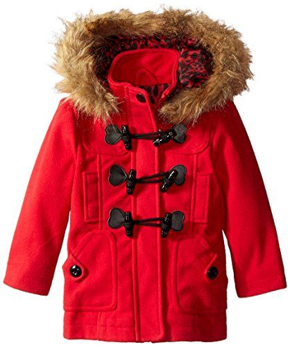 c60ac04b5 Urban Republic Little Girls  Wool Toggle Closure Coat