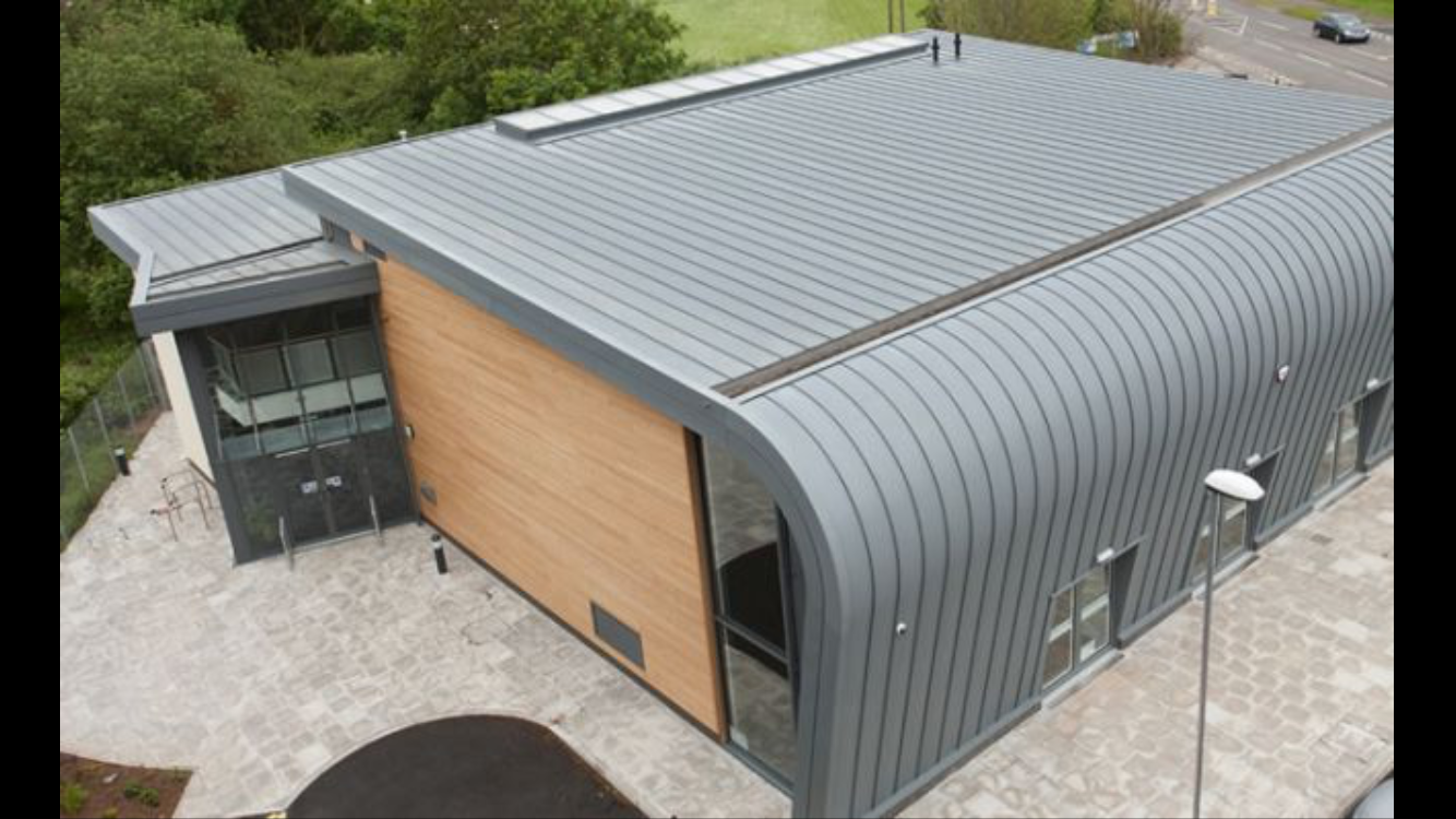 Pin By Joe Sabien On The Arc Roof Architecture Zinc Roof Roof Cladding