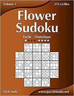 Télécharger Flower Sudoku Facile à Diabolique Volume 1
