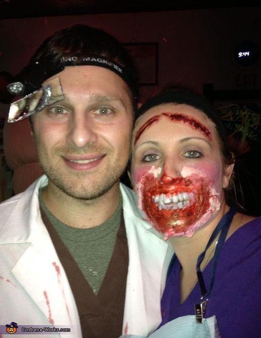 Demented Dentist\u0027s First Patient - Halloween Costume Contest at - mens halloween costume ideas 2013
