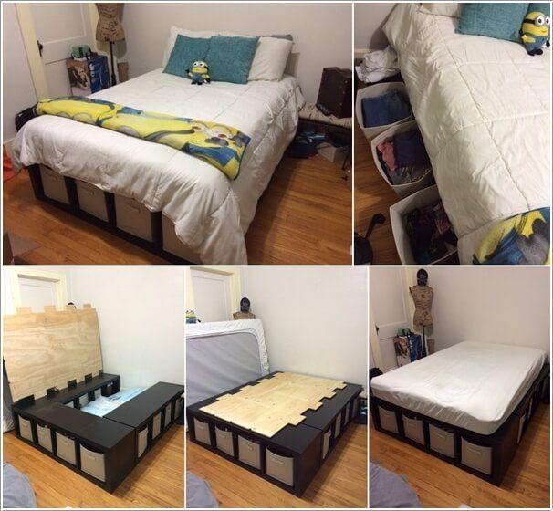 schlafzimmer storage ideen f r kleine r ume schlafzimmerm bel dekoideen m belideen. Black Bedroom Furniture Sets. Home Design Ideas