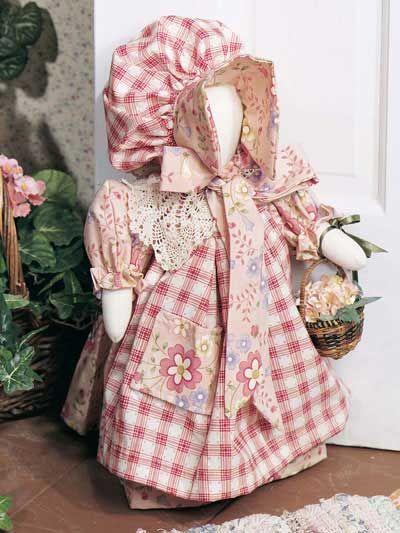 Sunbonnet Sue doorstop - free sewing pattern | sewing | Pinterest ...