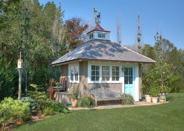 10 Adorable Garden Sheds ~ Humpdays with Houzz - Town & Country Living