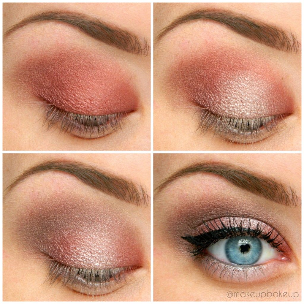 Simple maroon and silver eye shadow look. Makeup for day ...