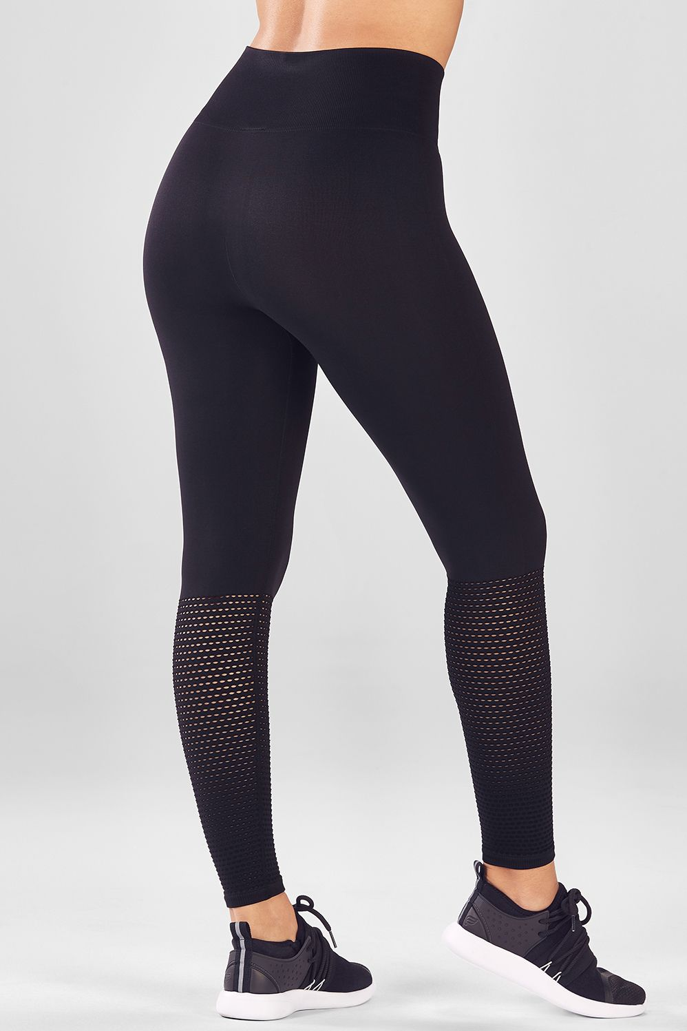 cef2afe26a8288 Seamless High-Waisted Mesh Legging | Products | Seamless leggings ...