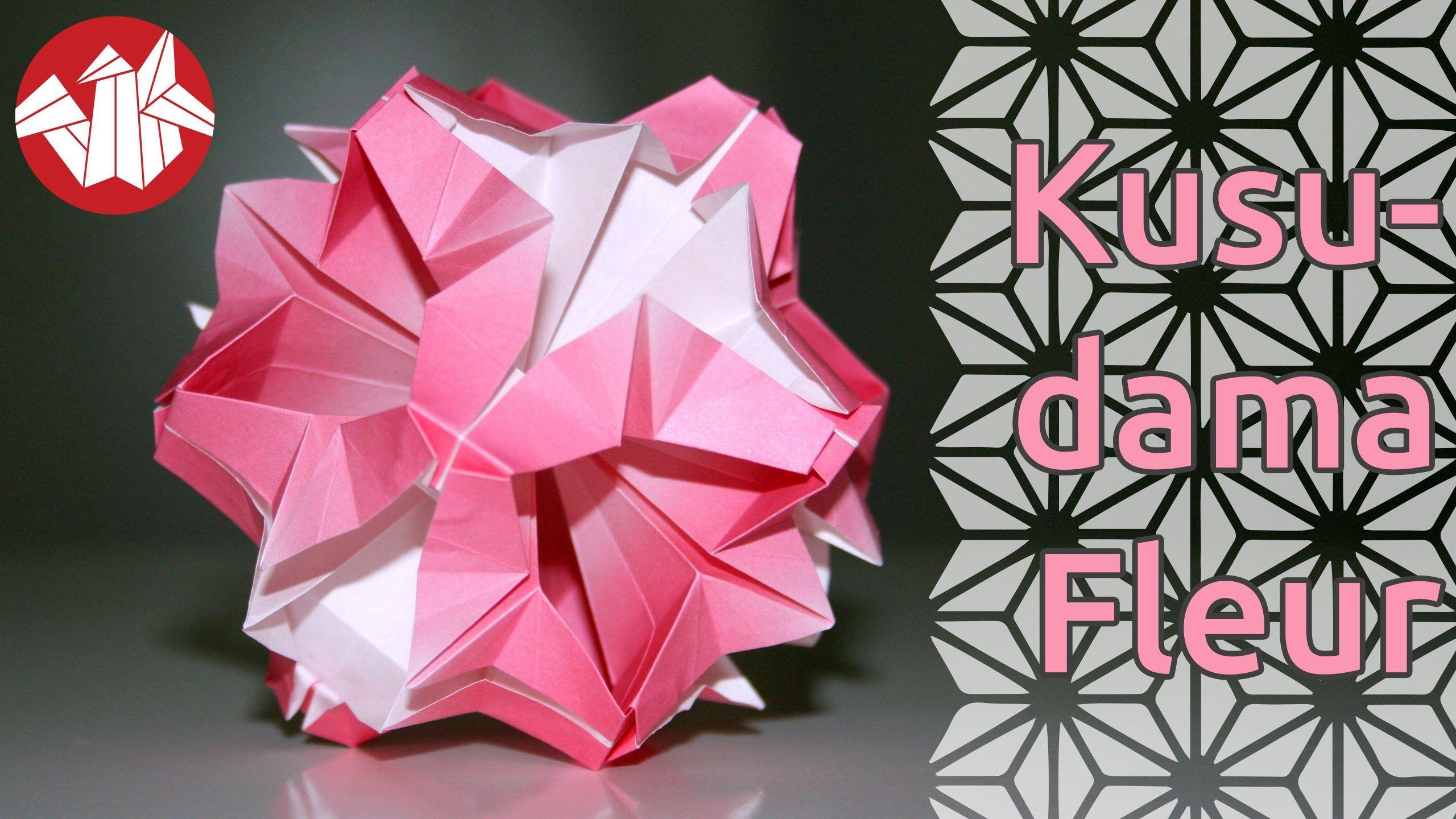 Origami Kusudama Fleur Flower Kusudama Senbazuru Sonobe