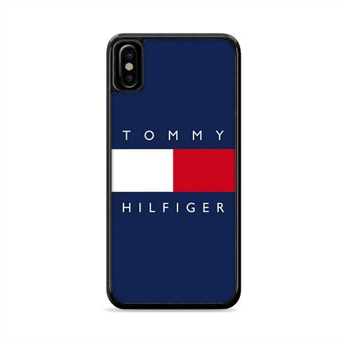 4190211d Tommy Hilfiger Logo iPhone X Case | Caserisa | Humairaa | Iphone ...
