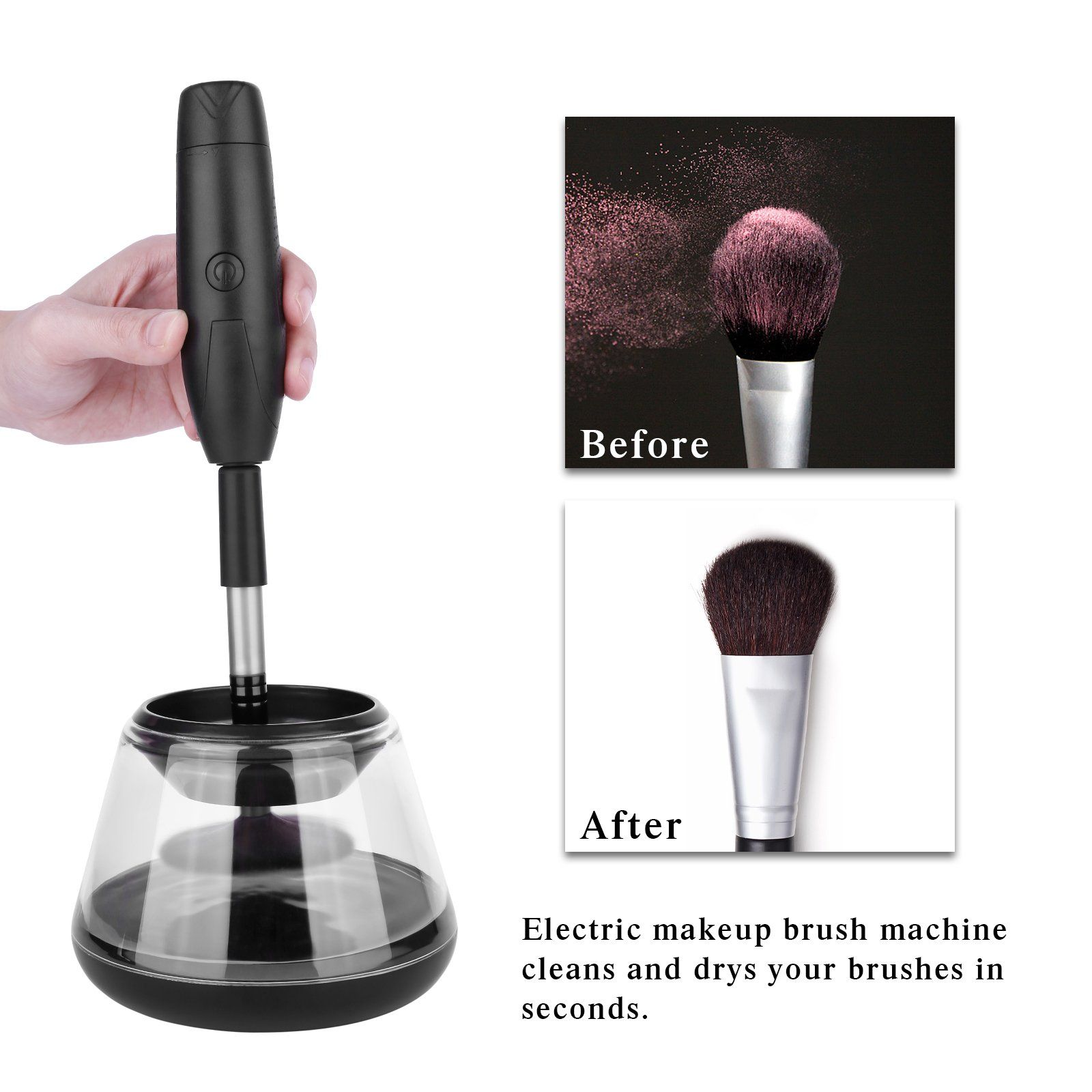 Makeup Brush Cleaner Machine Electric Makeup