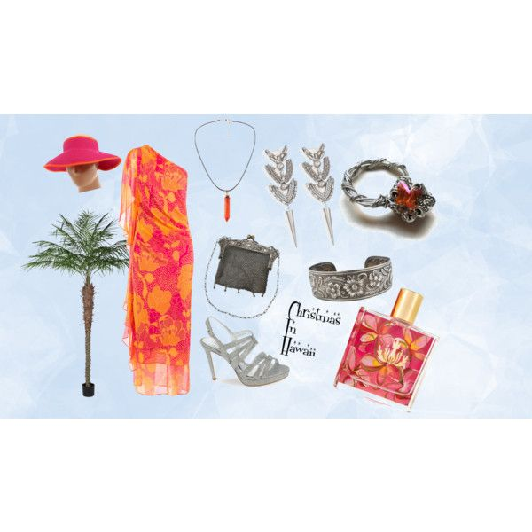 Christmas In Hawaii by markalinojewelry on Polyvore featuring Diane