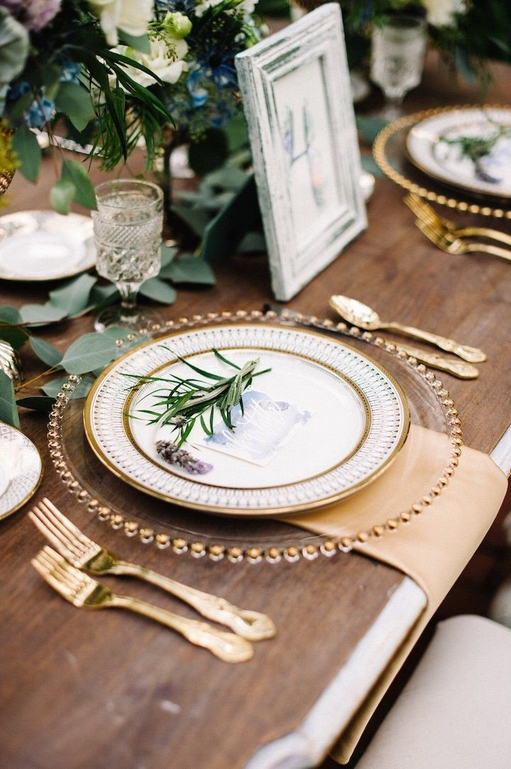 Dusty Blue and Lavender French Wedding Inspired Shoot | Pinterest ...