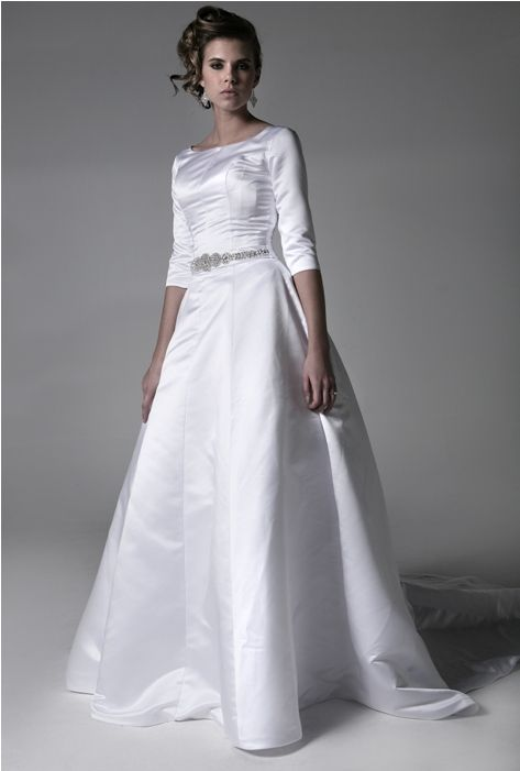 Nottingham Modest Wedding Dress Gotta Be A Way To Make It Temple