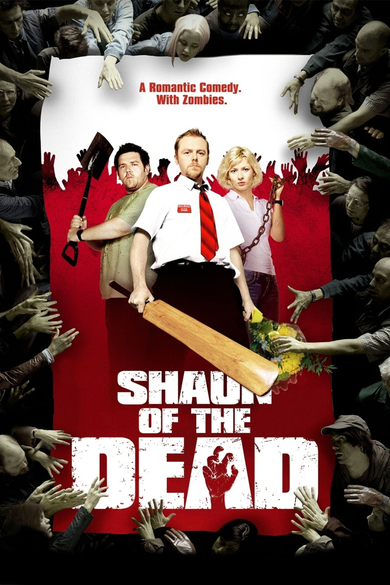 2004 Shaun Of The Dead Zombies Horror Movies Funny Zombie Movies Funny Horror