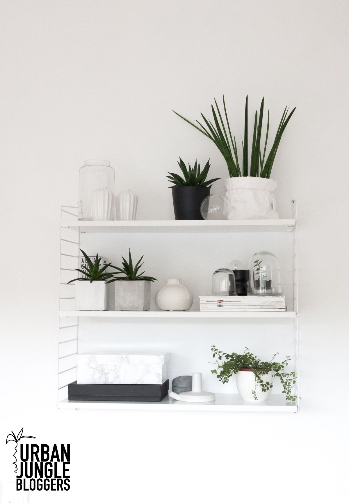 Urban Jungle Decorating Kitchen: Urban Jungle Bloggers: My Plant Shelfie By @anutammiste