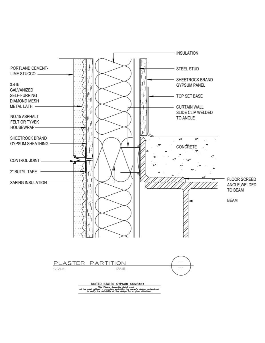 Wall Construction Details : Concrete wall detail details pinterest