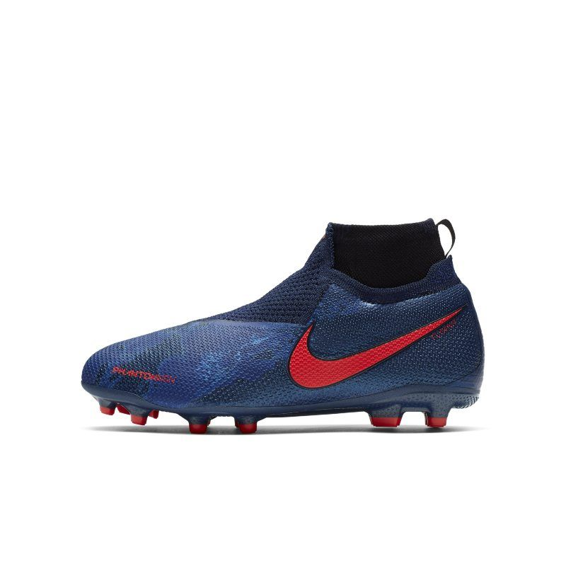 Jr Phantom Vision Elite Dynamic Fit Mg Older Kids Multi Ground Football Boot In 2019 Soccer Cleats Football Boots Soccer Shoes