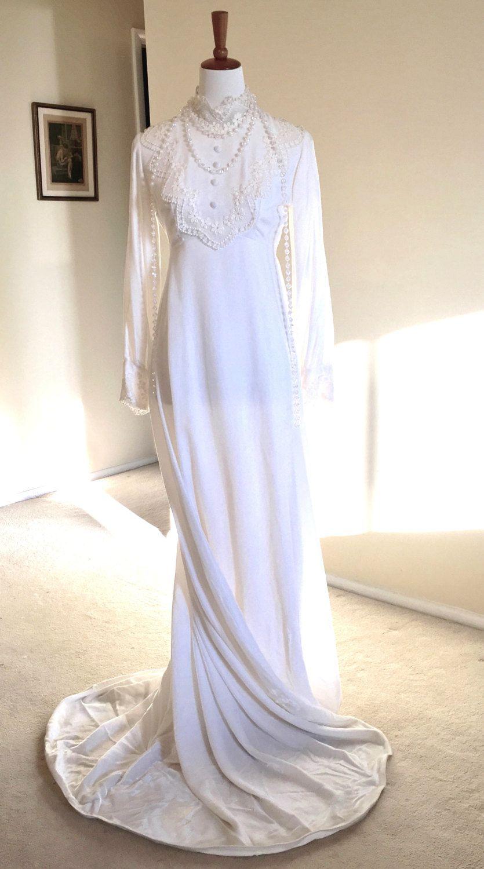 Velvet Vintage Wedding Dresses