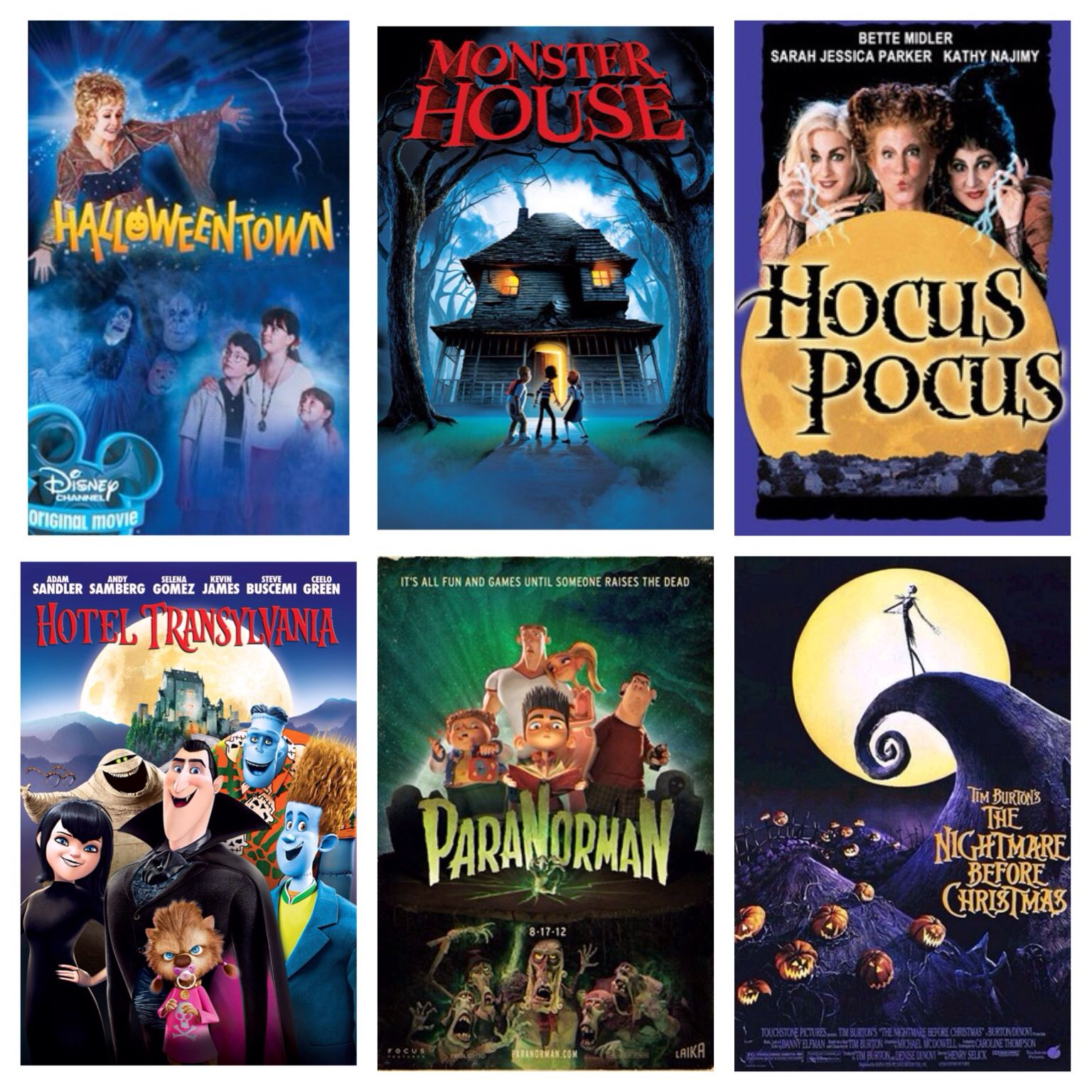 Must See Halloween Movies for Kids... No specific order