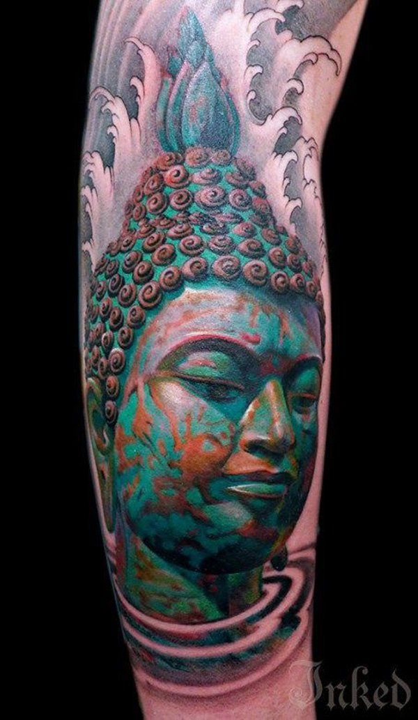 60 inspirational buddha tattoo ideas 3d tattoos tattoo designs and buddha. Black Bedroom Furniture Sets. Home Design Ideas